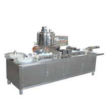 Automatic suppository filling sealing cutting machine