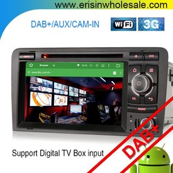 Erisin ES4027A 2 Din 7 inch Car DVD Player GPS DAB+ for A3