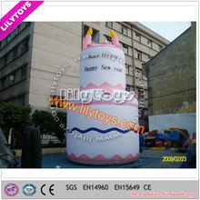 Giant inflatable cake model/large inflatable cake character