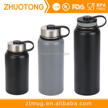 Stainless Steel Leak & Sweat proof Cap Thermos Flask For Hot or cold Beverages Vacuum Insulated Water Bottle Vaccum Flask