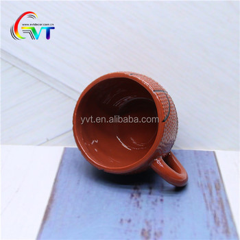 Cheap Basketball Shape Ceramic Sport Cup