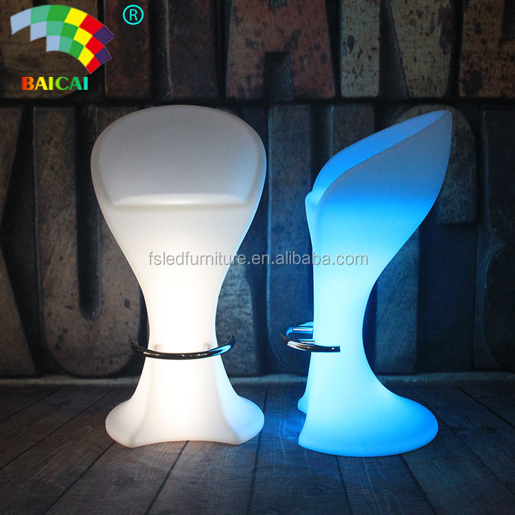 Wholesale LED Wedding Banquet Hall Room Chair LED Bar Furniture