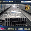 strcture steel ! 75 x 50 x 3 galvanised square tube galvanized rigid steel conduit pipe tube