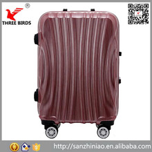 New style model cabin aluminum handle carry-on type and PC ABS hard shell travel house luggage wheel for suitcase