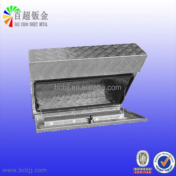 OEM custom size truck heavy vehicle use aluminum tool box