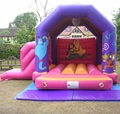 Hola fairy tale inflatable bouncer/inflatable castle for sale