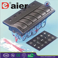 Daier carling /marine led rocker switch panel
