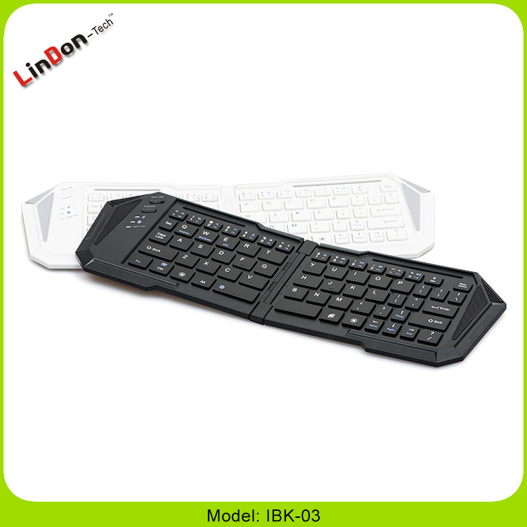 High Quality Mini Wireless Folding/Fodable Bluetooth 3.0 Keyboard For iPhone For iPad