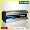 Scientek factory supply 12V24V48V to 220V1000W1500W2000W3000W4000W5000W6000W Pure Sine Wave Inverter with 22Acharger with UPS