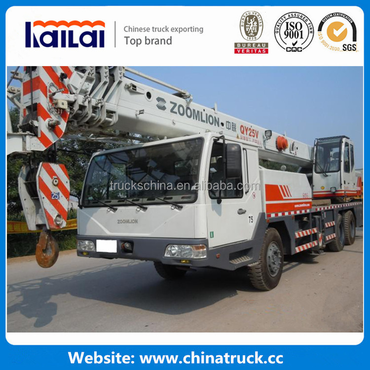 zoomlion crane truck 50 ton mobile crane for sale