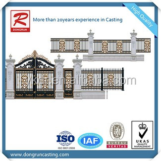 Castings Manufacturer big type outdoor canopy metal roof with iso certificate