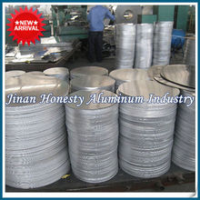 Thickness 1.2mm Aluminum Circle/Disc/Round Sheet 3003 3103 3004 3105 3005