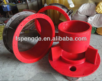 Red PU Part ( use for mineral collecting)