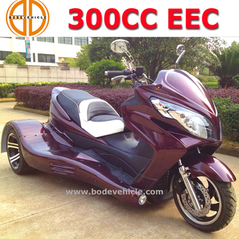 high quality cheap 3 wheel 300cc atv with COC