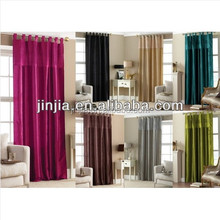 Manufacturer all kinds of window used home decoration curtains