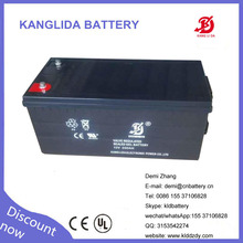 solar gel battery 200ah 12volt high performance factory wholesale