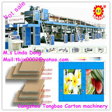 3 layer high speed corrugated paperboard production line