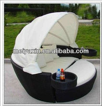 outdoor white daybed with canopy ML-127