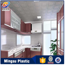 PVC Interior Decoration Material Heat Resistant Ceiling Panel for kitchen