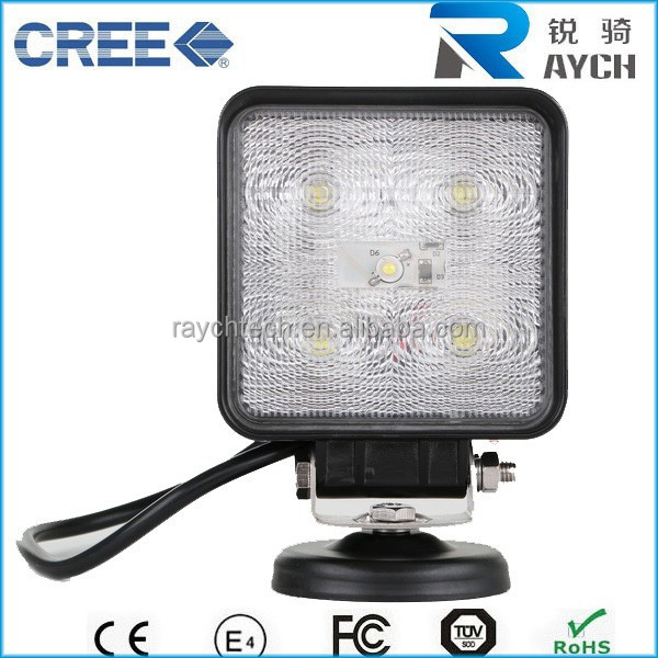 "5.7"" 15w led work light high quality off road truck light 4*4 led work light for atv jeep snowmobile zrz motorcycle accessories"
