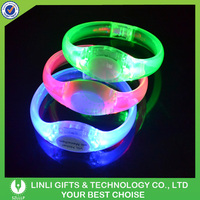 Voice Acitvated Led Bracelet Party Event Manufacturer