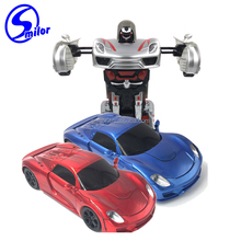 RC car intelligent transform robot toys remote control car