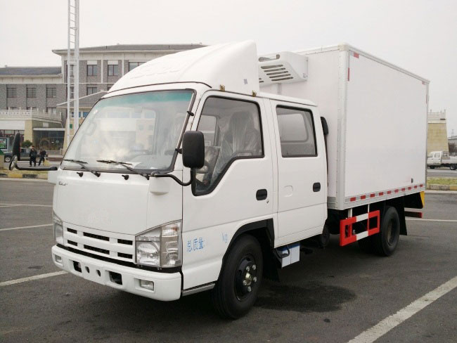 China supply 2 ton freezer refrigerated truck for sale