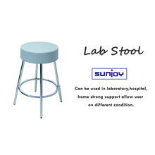 more comfortable modern pu stool and chair for laboratory