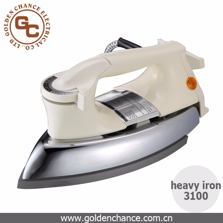 hot sales CE,CB home appliance electric dry heavy iron 3100