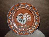 plat pottery