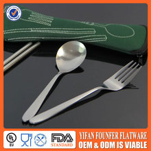 Malaysia Promotional Gift 3pcs cutlery set