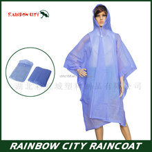 colorful reusable fashion transparent pvc raincoat good quality pvc rain poncho