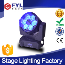 Electronic strobe 6x15W 4-in-1 wash beam moving head