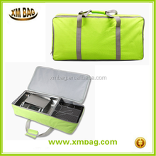 Big Polyester Barbecue Oven Storage Bag picnic bag set perfect for family
