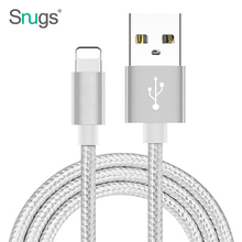 High quality 1m 2m 3m fast charging metal head nylon braided usb phone charging cable for iphone 8/8 plus/X