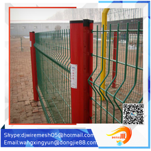 welded wire mesh curved fence / high security fence panels / garden fence wire fencing