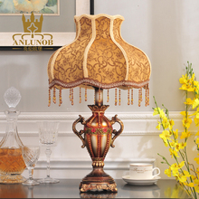 BRAND 2016 NEW DESIGN YELLOW LIGHTING BEDSIDE LAMP RESIN MODERN TABLE LAMPS LED FOR FACTORY WHOLESALE