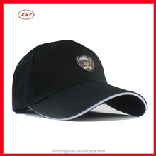 Black dyed cotton twill cheap baseball cap manufacture in sport