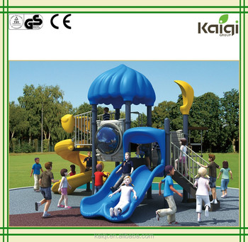 Kaiqi 2015 New Castle Theme Kids Outdoor Playground KQ50059B