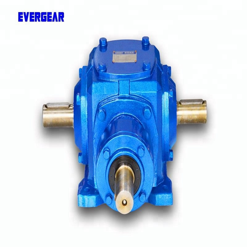 T Series 90 degree helical cone bevel agricultural gearbox