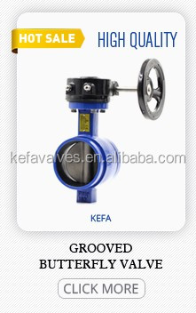 double flanged type butterfly check valve PN16