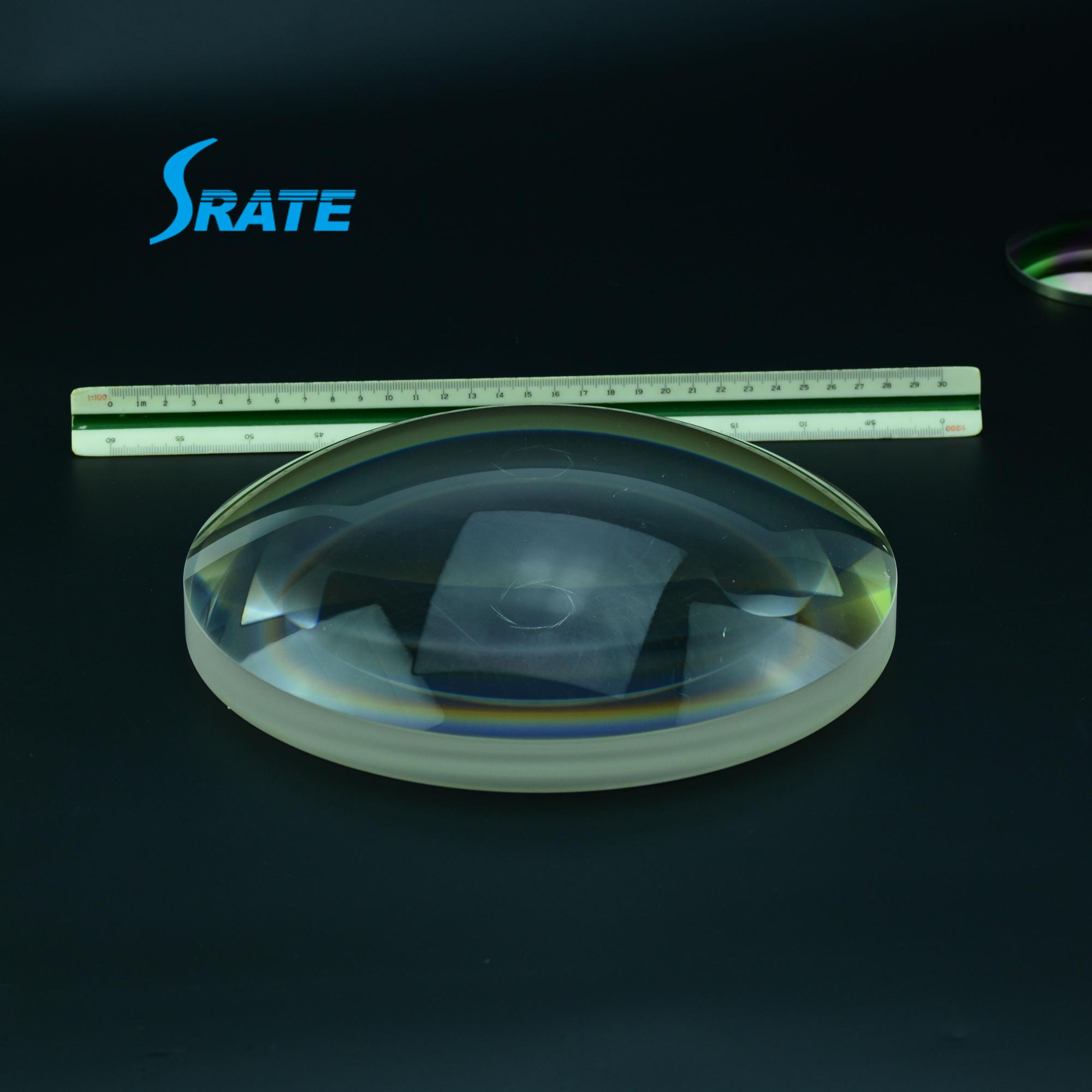 fresnel concave optical lens