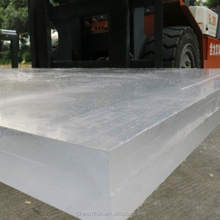customized hogh impact 30mm 120mm cast clear thick acrylic sheet for aquarium