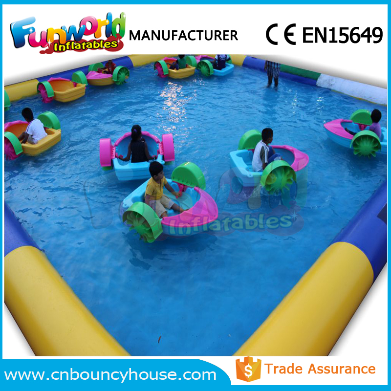 PVC round inflatatble water swimming pool inflatable pool for rental