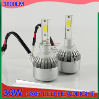 2016 C6 LED Automobiles Motorcycles Lights