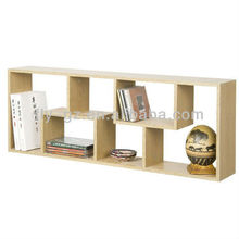 open wall shelves unit/ high quality wooden open cabinets for sale