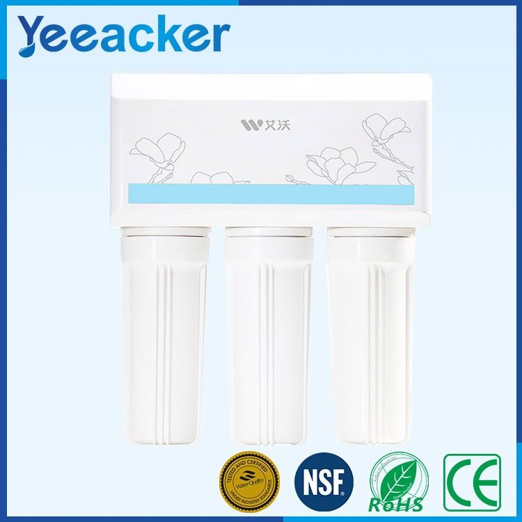 Home 4 stage water filter system/Water purifier factory/Residential water purification system