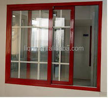 popular style aluminium portable window privacy window curved glass windows