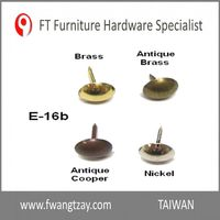 Taiwan Hardware Manufacturer High Quality Furniture Metal Decorative Chair Nail