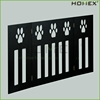 Wood Black Finish Portable Dog Pet Fence Homex_BSCI Factory